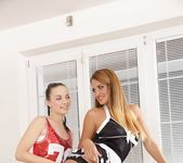 Kristy Black, Nicole Nice - Her First MILF #20 5