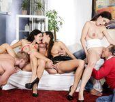 Mea Melone, Billie Star, Isabella Noir - Swingers Orgies #09 3