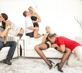 Kayla Green, Katy Rose, Shrima Malati - Swingers Orgies #11 2