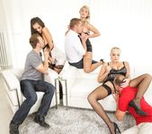 Kayla Green, Katy Rose, Shrima Malati - Swingers Orgies #11 3