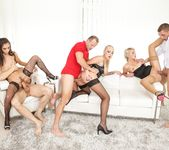 Kayla Green, Katy Rose, Shrima Malati - Swingers Orgies #11 7