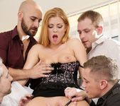 Chrissy Fox - 4 On 1 Gang Bangs #06 7