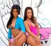 Megan Vaughn, Leilani Leeane - Black Anal Addiction 9
