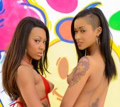 Skin Diamond, Leilani Leeane - Black Anal Addiction 8