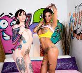 Krysta Kaos, Bonnie Rotten - Tattooed Anal Sluts #02 9