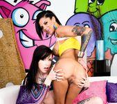 Krysta Kaos, Bonnie Rotten - Tattooed Anal Sluts #02 14