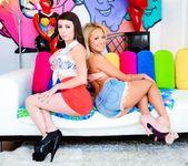Tinslee Reagan, Kat Dior - Anal Spinners 2