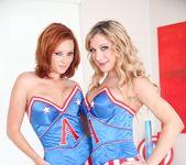 Amy Brooke, Audrey Hollander - Anal Acrobats #08 11