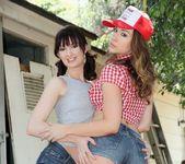 Alana Rains, Chanel Preston - Strap On Anal Lesbians #02 11