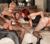 Barbra Sweet, Cassidy B - Rocco's Perfect Slaves #03 6