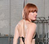 Aiden Starr, Claire Robbins - Lesbian Anal Sex Slaves 27
