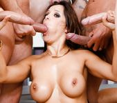 Francesca Le - LeWood Gangbang: Battle Of The MILFs 11