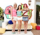 Kalina Ryu, Riley Jenner, Anna Bell Peaks - Triple BJs 5