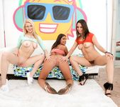 August Ames, Jade Nile, Alli Rae - Triple BJs 14