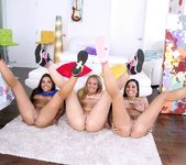 AJ Applegate, Morgan Lee, Karlee Grey - Triple BJs 14