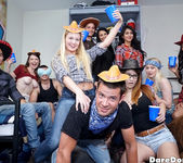 Anastasia Rose - Western Party - Dare Dorm 2