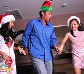 Stephanie, Jackie Lin - Christmas Bonus - Fantasy Massage 14