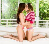 Cassie Laine, Sara Luvv - Skinny Girl - Girlsway 2