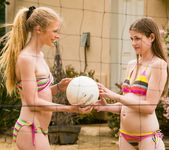 Avril Hall, Laura Brooks - Volleyball With Friends 2