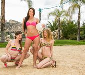 Avril Hall, Laura Brooks - Volleyball With Friends 16