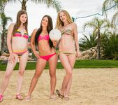 Avril Hall, Laura Brooks - Volleyball With Friends 18
