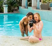 Megan Salinas, Tracy Sweet - Swimsuit Edition - Girlsway 7