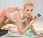 Taylor Reed, Samantha Rone - Paint Me Pink - Girlsway 19