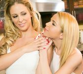 Cherie DeVille, Alina West - Never Too Small - Girlsway 2