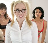 Detention Part Two: DP The Principal Way - Girlsway 28