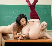 Detention Part One: French Profanity - Girlsway 10