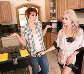 Elsa Jean, Lily Cade - The Plumber: Part One - Girlsway 3