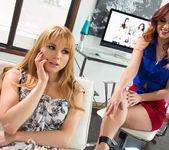 Karlie Montana, Jayme Langford - Gyno Psychology - Girlsway 4
