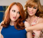 Penny Pax, Kendra James - Reluctant Rub - Girlsway 3