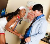 Nyomi Banxxx - Big Breast Nurses #04 4