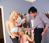 Kathy Sweet, Lady Pinkdot - 2 Pies One Guy 6
