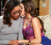 Skin Diamond, Celeste Star - Lesbian Office Seductions #09 2