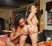 Skin Diamond, Celeste Star - Lesbian Office Seductions #09 7