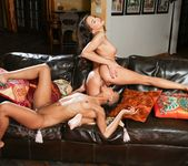 Skin Diamond, Celeste Star - Lesbian Office Seductions #09 13