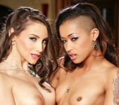 Skin Diamond, Celeste Star - Lesbian Office Seductions #09 28