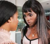 Ana Foxxx, Alia Starr - Lesbian Beauties #11 - All Black 2
