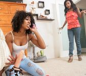 Misty Stone, Ivy Sherwood - Lesbian Beauties #11 - All Black 3