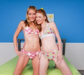 Marie McCray, Ellie Foxx - 2 Slits For 1 Dick 3