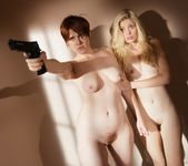 Lily Cade, Charlotte Stokely - Prison Lesbians 15