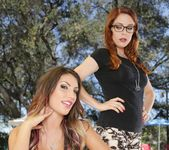 Penny Pax, August Ames - Girls Kissing Girls Volume Sixteen 19