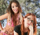 Penny Pax, August Ames - Girls Kissing Girls Volume Sixteen 25
