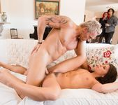 Adriana Chechik, Taylor Reed, Brett Ravage - The Swinger #06 11