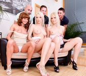 Bella Baby, Sandy E - 5 Incredible Orgies #02 5