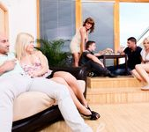Bella Baby, Sandy E - 5 Incredible Orgies #02 6