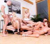 Bella Baby, Sandy E - 5 Incredible Orgies #02 14