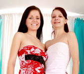 Vittoria, Angelina Young - 18 Year Old Lesbians #02 3